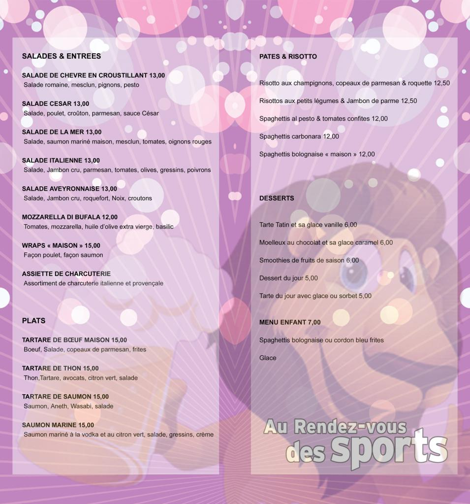 menu int 2 rdv sports